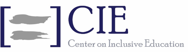 center on inclusive education logo
