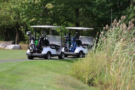 Golf Carts at the Golf Classic