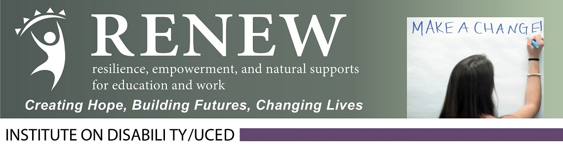 RENEW logo and event header