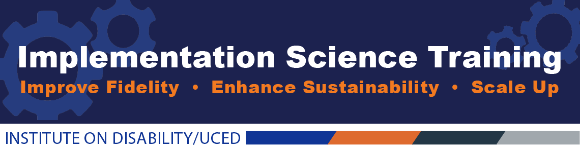 Implementation Science Training Banner