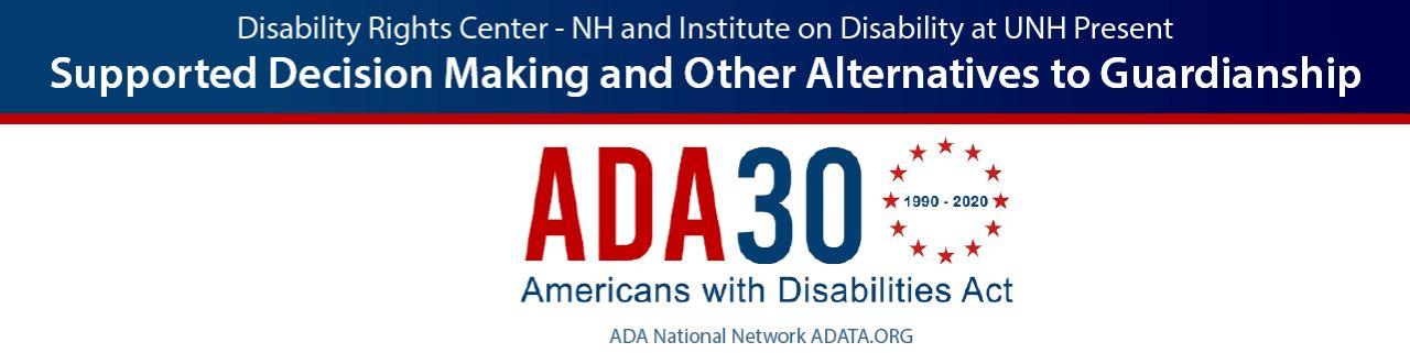 Event Header with ADA 30 logo