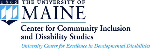 Umaine - Center for community inclusion logo