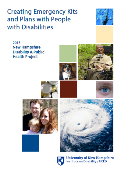 Creating Emergency Kits and Plans with People with Disabilities