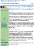 Research Brief on Clinical Preventive Service Use - June 2014