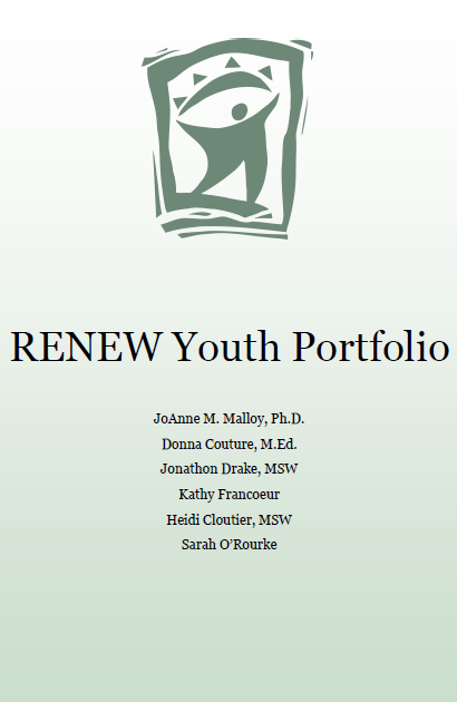 RENEW Youth Portfolio Cover