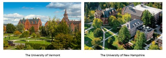 The University of Vermont & The University of New Hampshire
