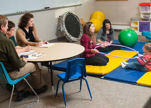 Child is Evaluated by the Seacoast Child Development Center
