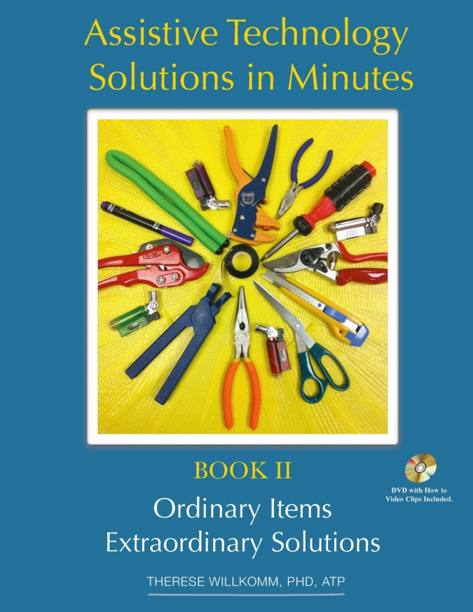 Book cover - Assistive Technology Solutions in Minutes II