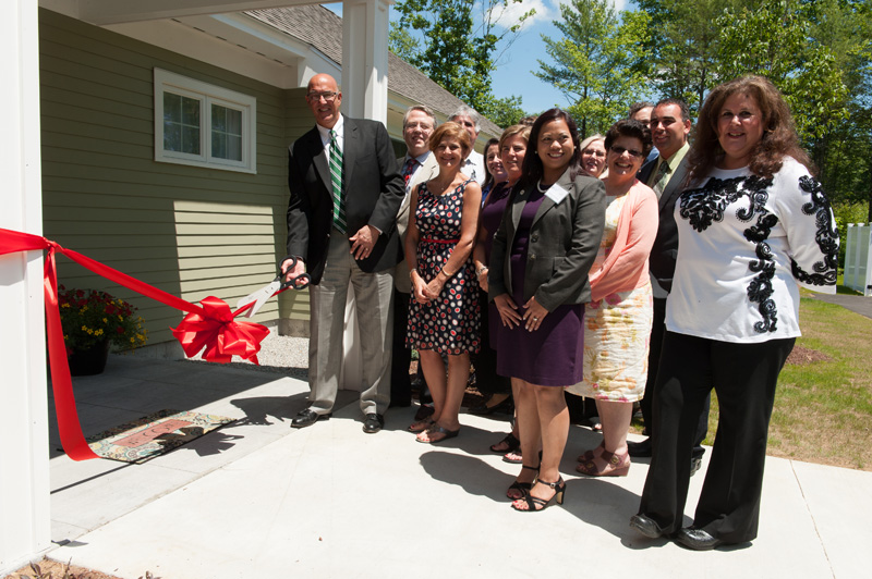Ribbon cutting at the START Resource Center