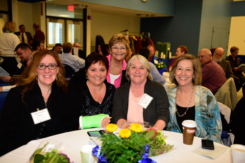 IOD staff at UNH recognation ceremony